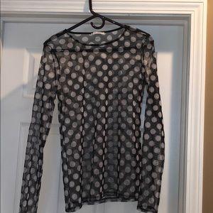 ⚫️⚪️⚫️Zara Collection mesh top
